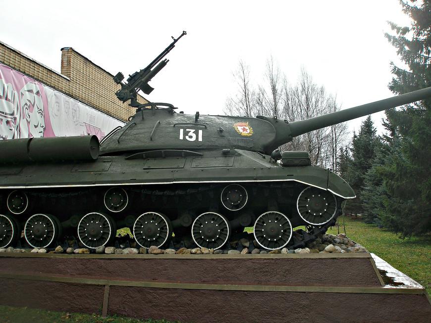Советский тяжелый танк ИС-3М.