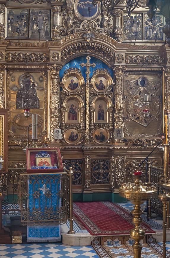 Кострома. Царские врата в храме Александра и Антонины в Селище