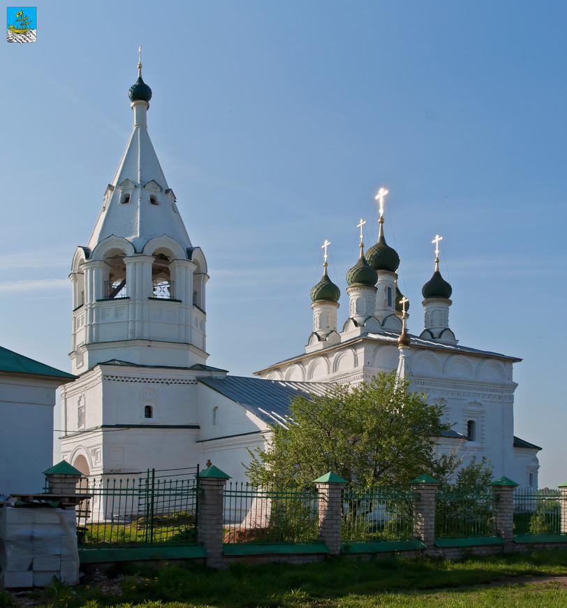 Кострома. Спасо-Преображенский храм за Волгой