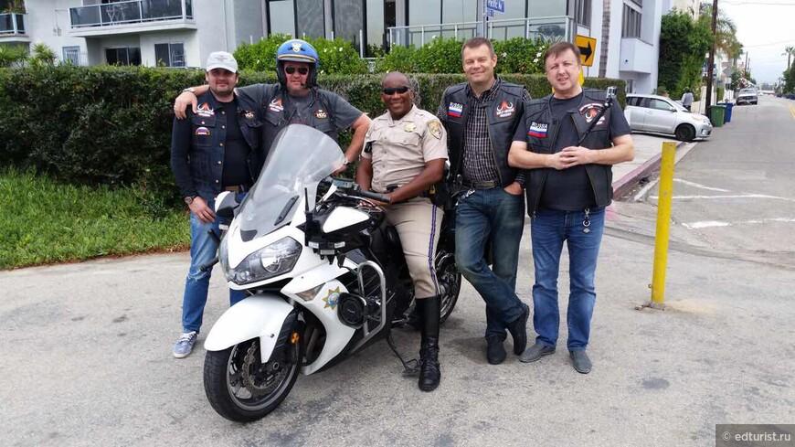 Налаживаем дружбу с местными полицейскими