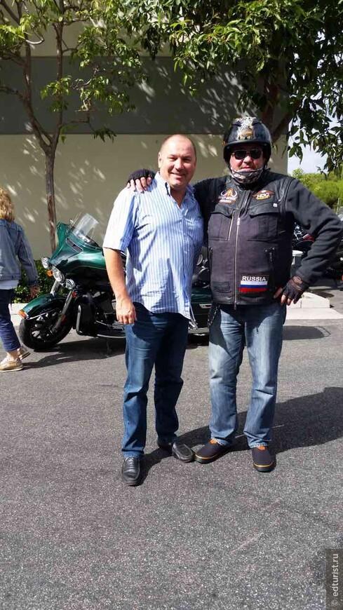 Путешествие по 66-ой Дороге на мотоциклах Harly Devidson