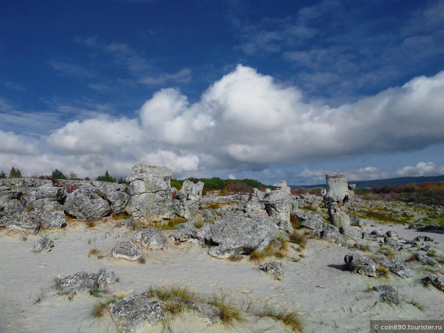 Побитые камни