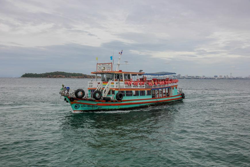 Кораблик на Ко Лан.
