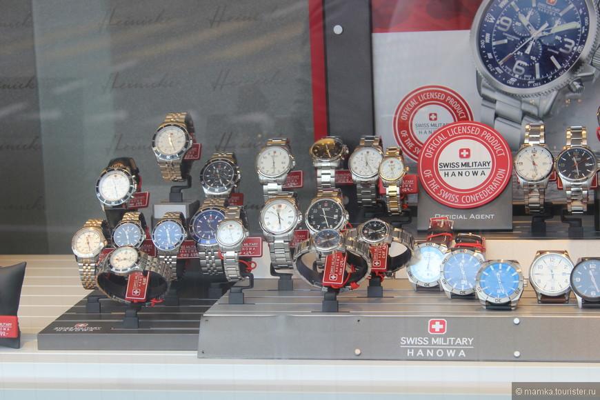 Ну и какая же Швейцария без часов