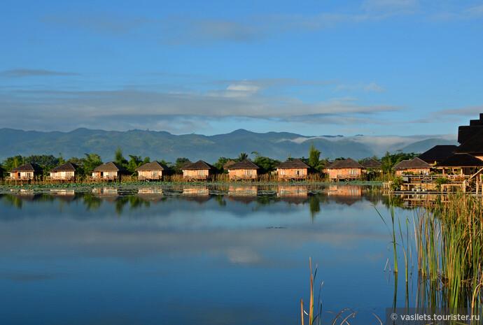 Так начинается утро богатых интуристов в окрестностях озера Инле в Бирме