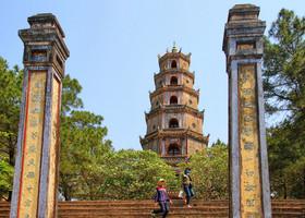 Хюэ. Пагода Тьенму (Thien Mu Pagoda)