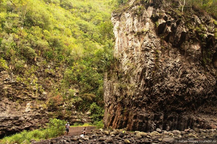 Каменное ущелье Bras de Plaine
