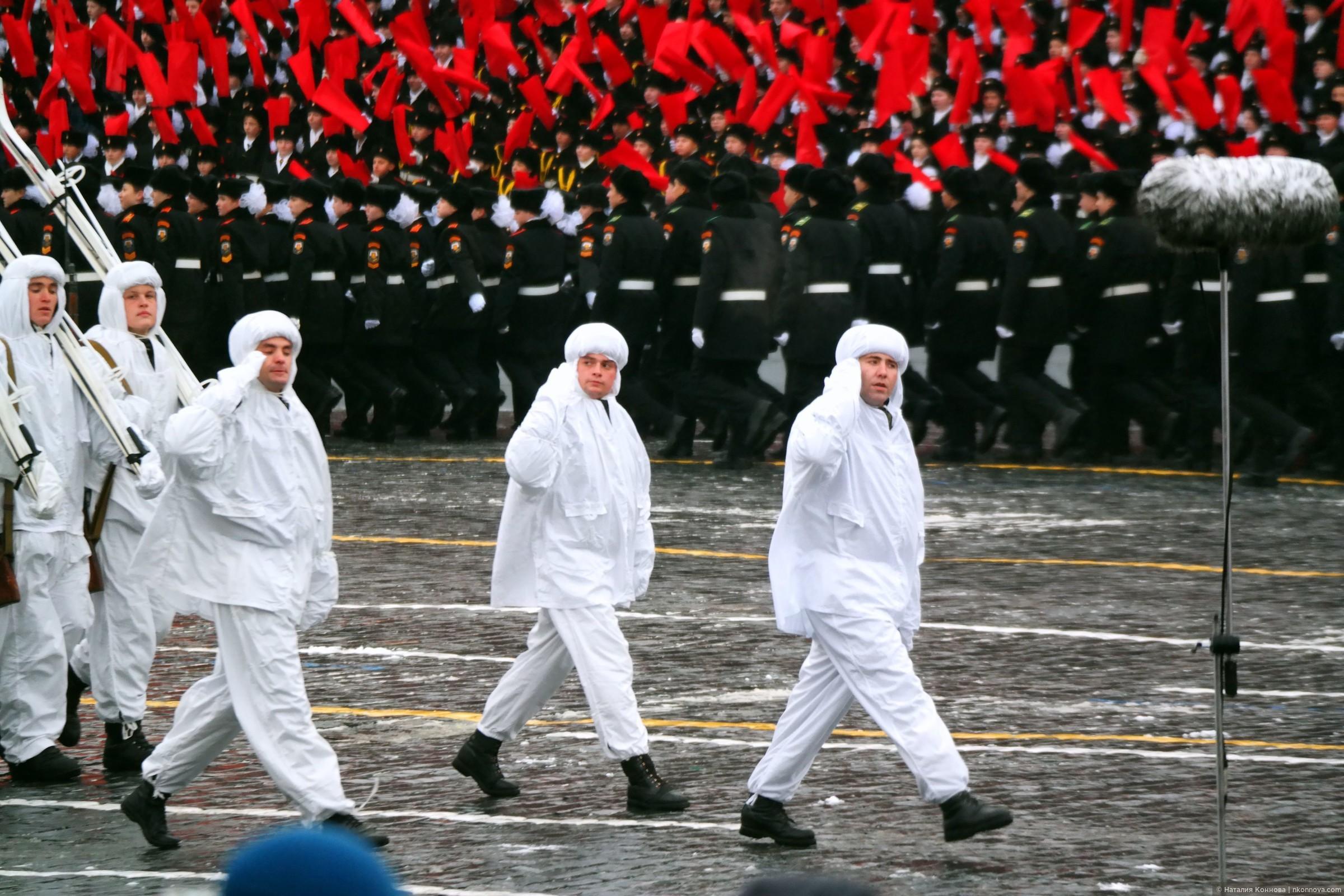 Отдельная Краснознаменная мотострелковая дивизия особого назначения им. Дзержинского., Торжественный марш 7 ноября 2016, Красная пл.