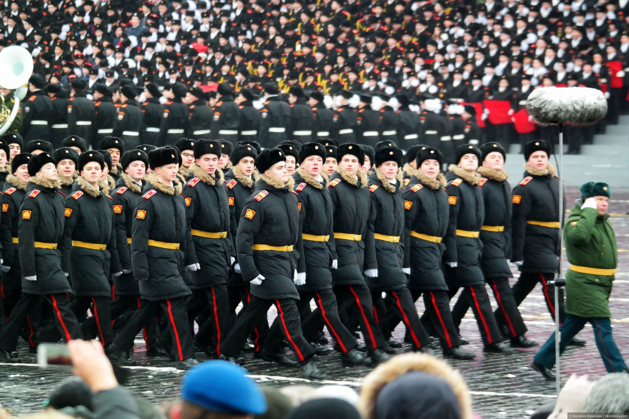 """Фото из альбома """"Торжественный марш 7 ноября 2016, Красная пл."""", Москва, Россия"""