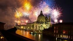 В Венеции пройдёт новогоднее световое шоу