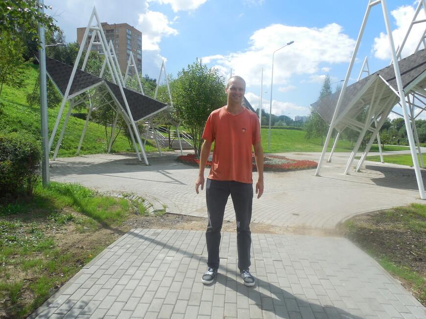 Братеевский каскадный парк - место для укрытия от дождя