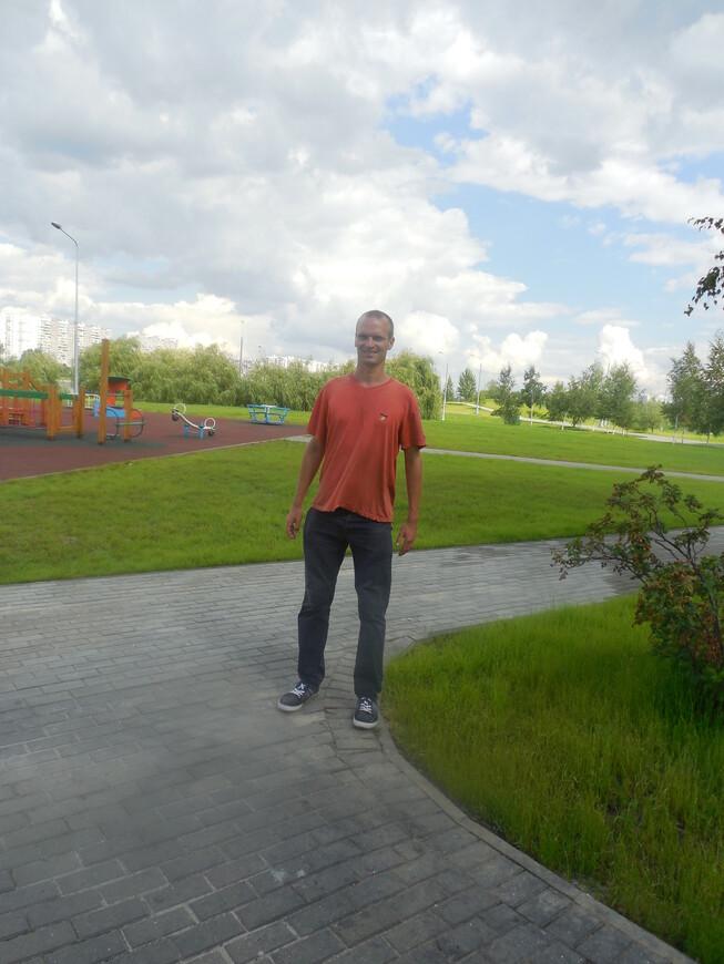Братеевский каскадный парк - детская площадка