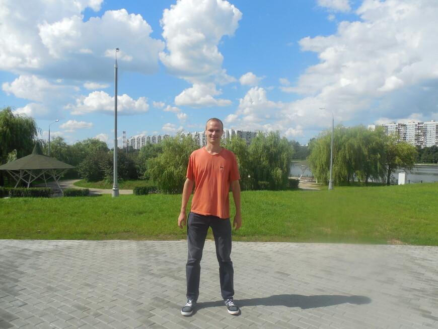 Братеевский каскадный парк и Москва-река