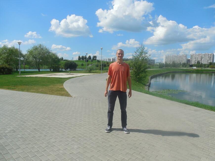 Братеевский каскадный парк - пруд
