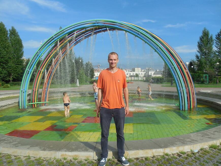 Детский ландшафтный парк «Южное Бутово»: фонтан «Летние дожди»