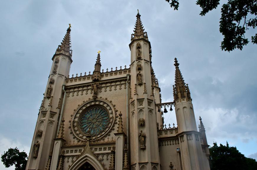 Потрясающая архитектура готической капеллы.
