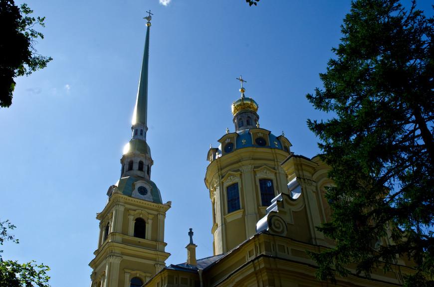 Петропавловский собор. Шпиль и купол