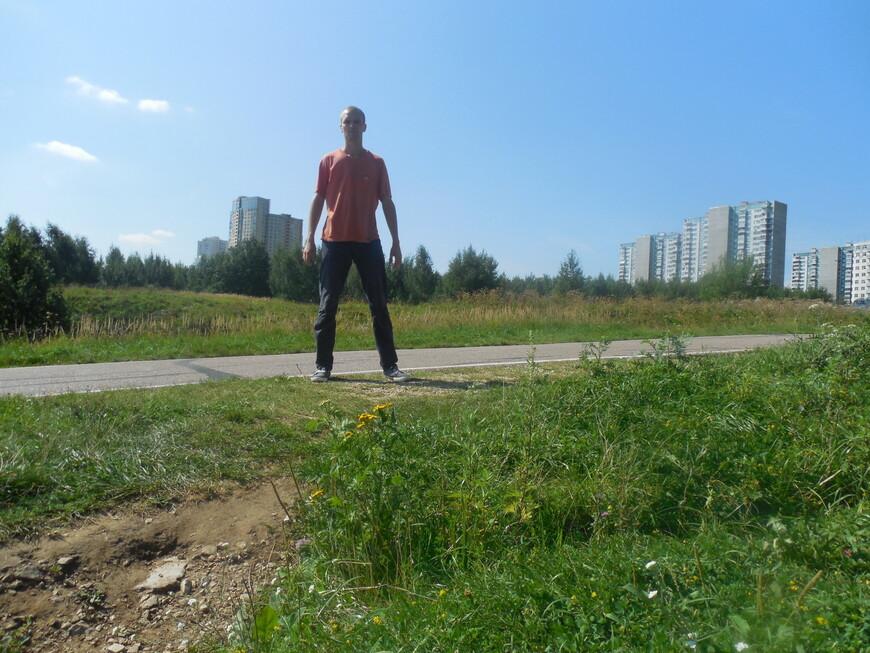 Парк «Крылатские холмы»: Олимпийская велотрасса