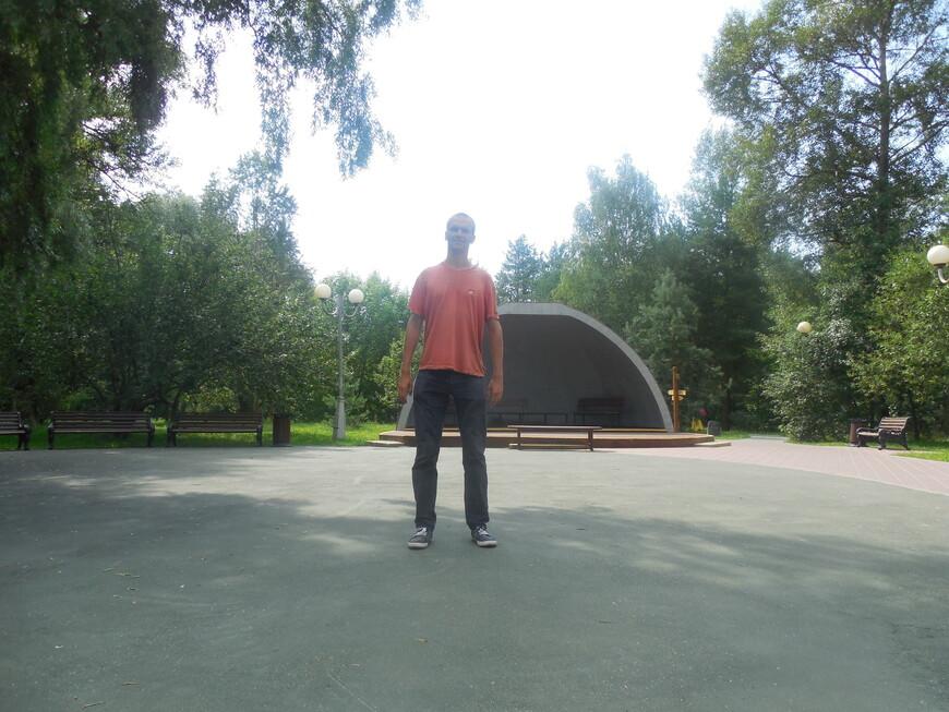 Остров-заповедник «Серебряный бор»: парк «Ветеран» - сцена