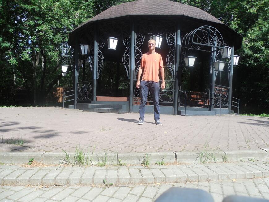 Остров-заповедник «Серебряный бор»: парк «Ветеран» - Лемешевская поляна: эстрадная ротонда