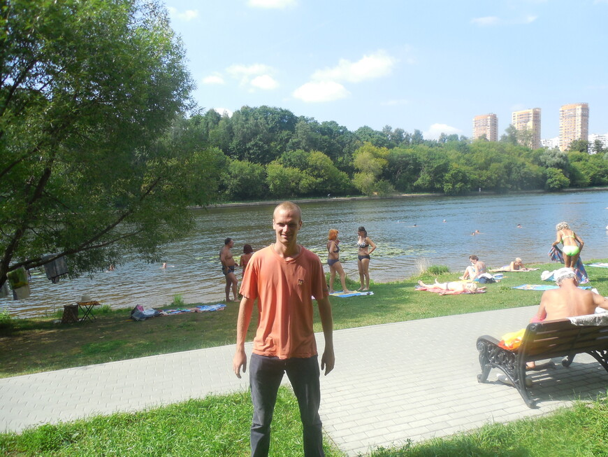Остров-заповедник «Серебряный бор»: парк «Ветеран» и Москва-река