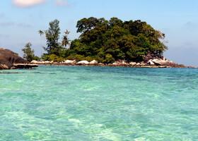 Малайзия. Тиоман: берег непуганых черепах