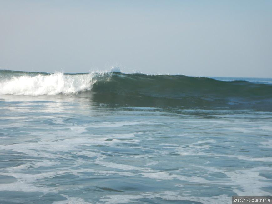 Волна накатывает........