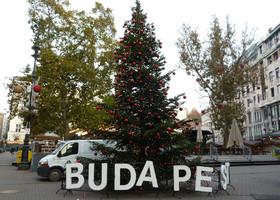 Будапешт. Рождественское настроение