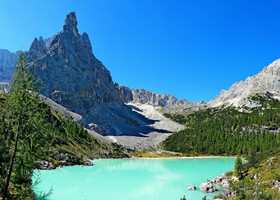 Доломитовые Альпы: озеро Сорапис