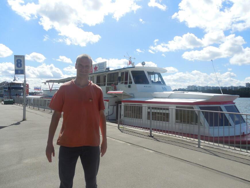 Северный речной вокзал - теплоход «Москва-89»