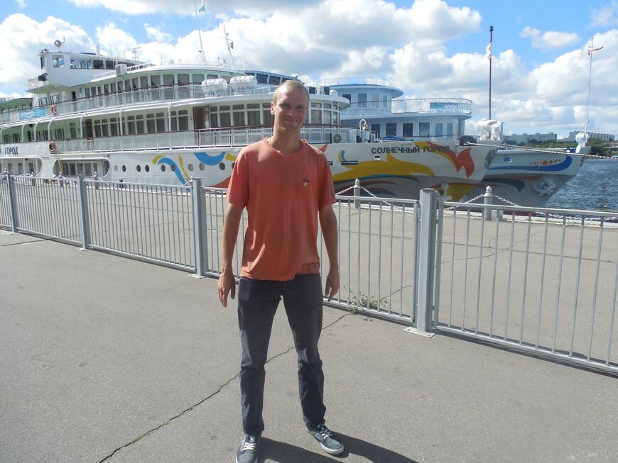 Северный речной вокзал - теплоход «Солнечный город»