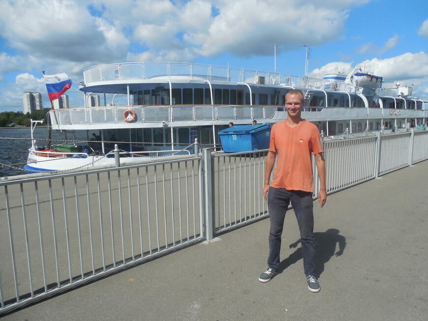 Северный речной вокзал - теплоход «Бородино»
