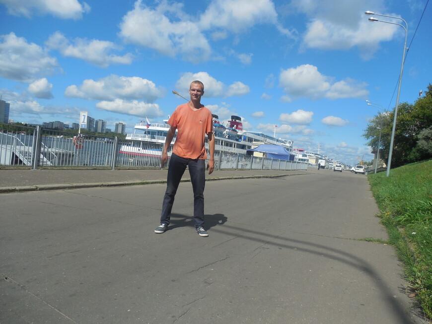 Северный речной вокзал - теплоход «Феликс Дзержинский»