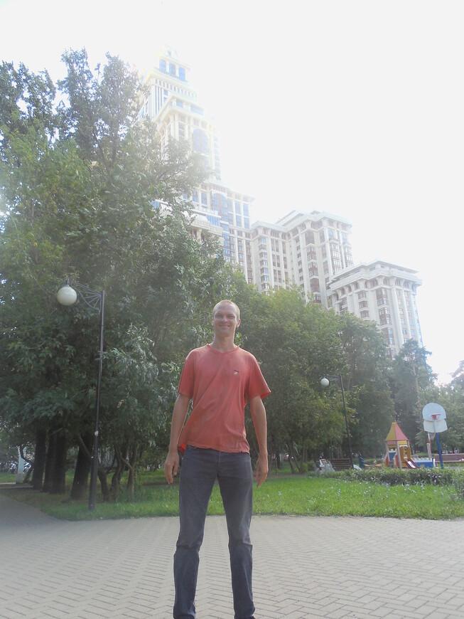 Чапаевский парк и жилой комплекс «Триумф-Палас»