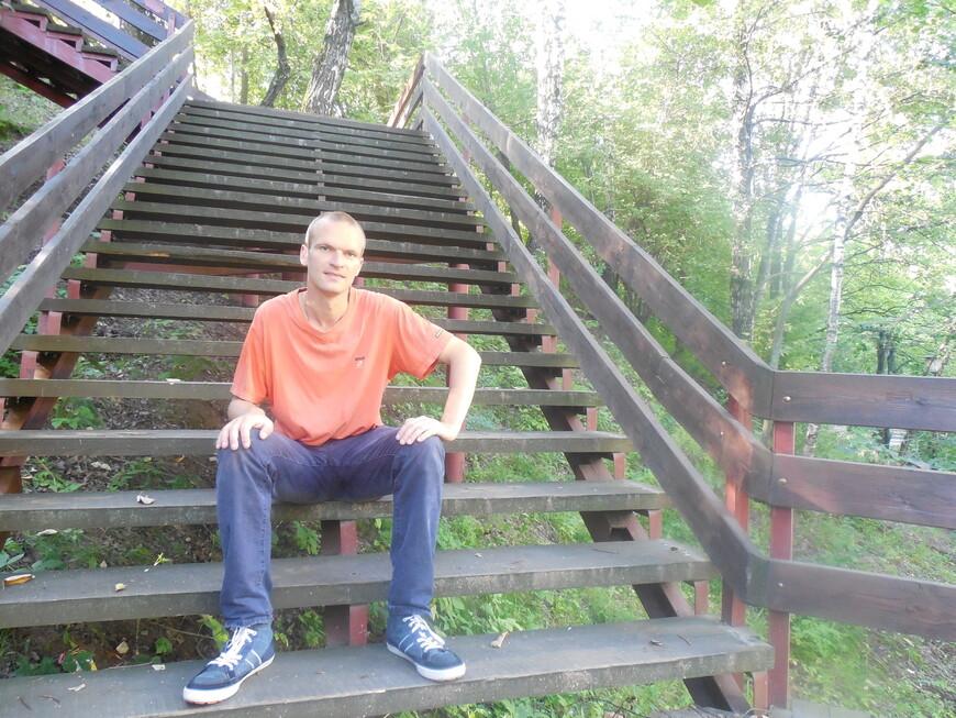 Парк «Отрада» - в парке достаточно много спусков/подъёмов