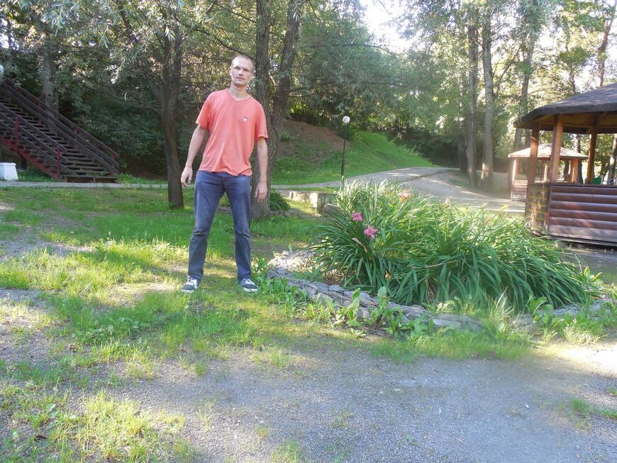 Парк «Отрада» - райское место для шашлыков, полно беседок с мангалами