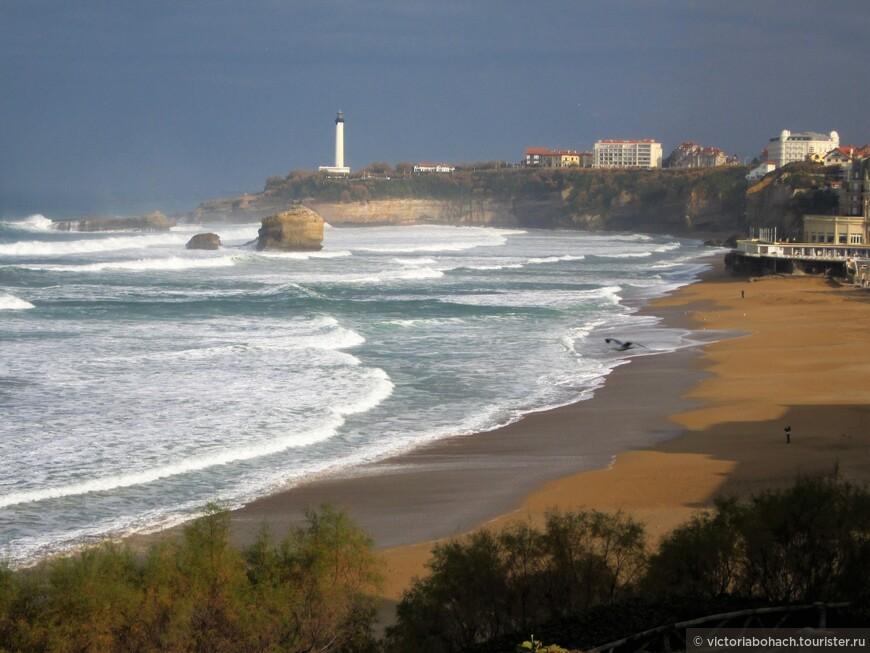 Бискайский залив это все же Атлантика  это океаническая мощь и  красота.