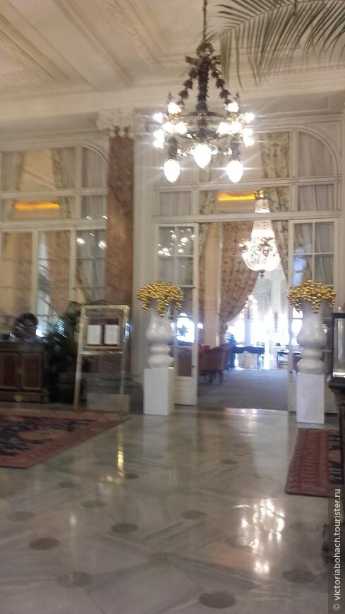 Фешенебельный 5 звездочный Отель дю Пале в Биаррице - бывший дворец императрицы Евгении жены Наполеона III
