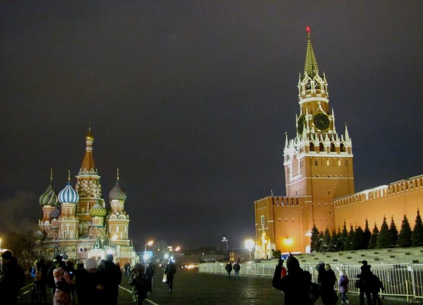 Красная площадь за неделю до Нового года!