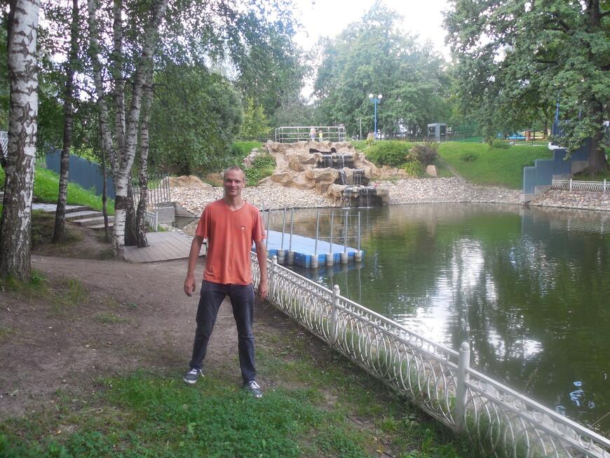 Лианозовский парк: Лианозовские пруды - декоративный водопад и лодочная станция