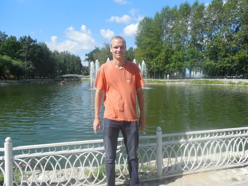 Лианозовский парк: Лианозовские пруды - фонтан