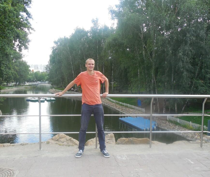 Лианозовский парк: Лианозовские пруды - лодочная станция