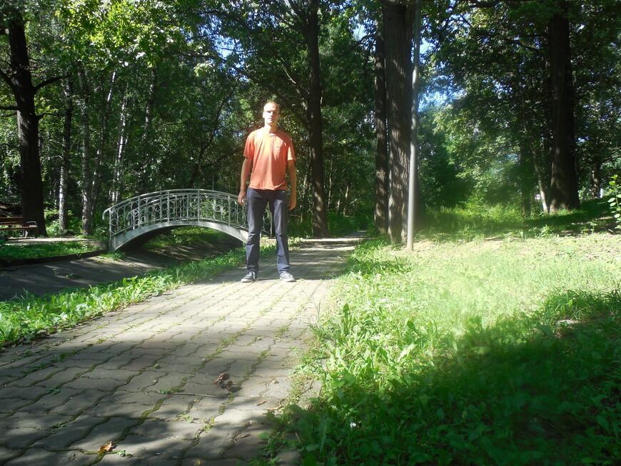 Лианозовский парк - протока между Лианозовскими прудами
