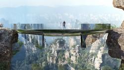 «Невидимый» мост построят в Китае