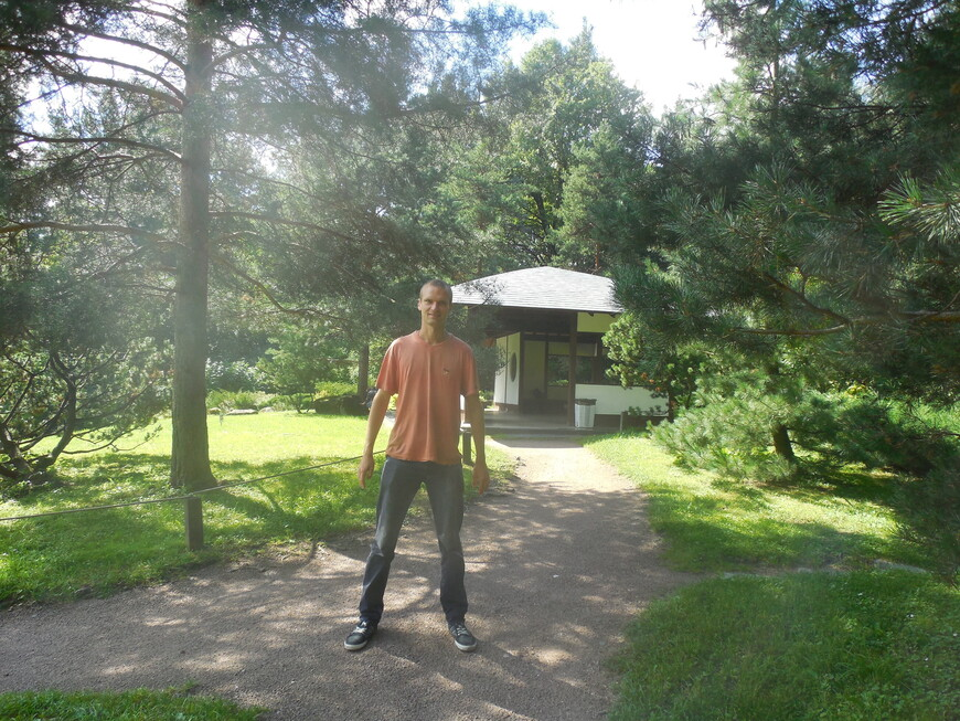Японский сад в Ботаническом саду - Чайный домик