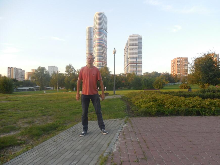 Парк «Акведук» и жилой комплекс «Триколор»