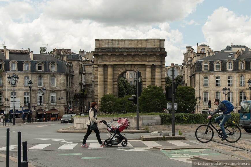 Бургундские ворота. Бордо