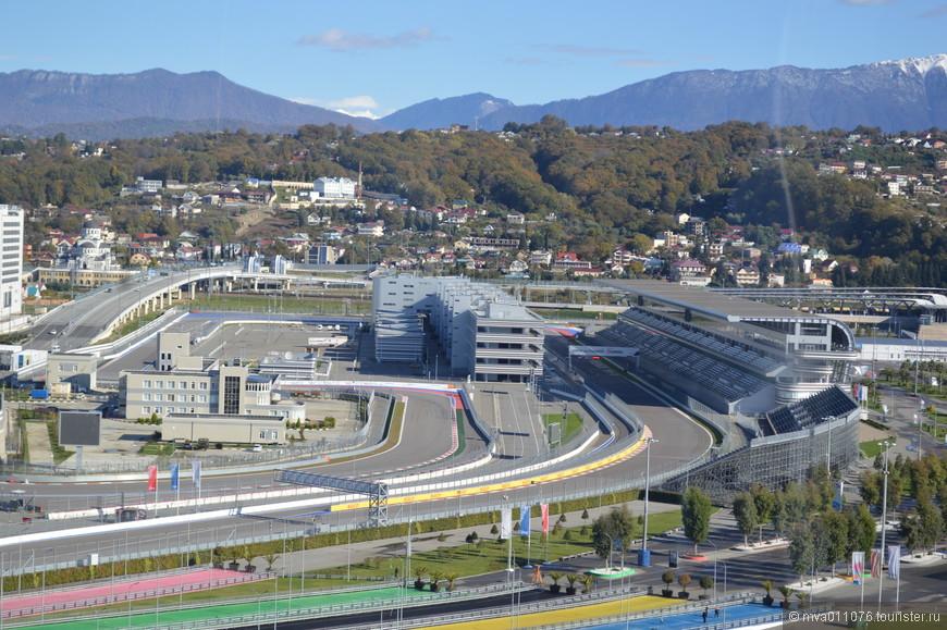 участок трассы гонок Формула-1