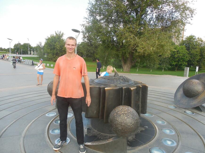 Аллея Космонавтов и Космопарк: скульптурная композиция «Декоративный макет Солнечной системы»