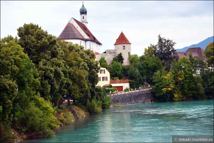 Прогулка по Фюссену